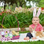 Baby Easter photography in Gainesville